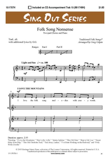 Folk Song Nonsense