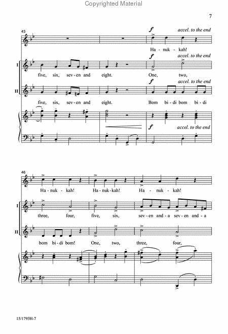 The Candles Of Hanukkah By Amy F Bernon Octavo Sheet Music For 2 Part Choir And Descant Buy Print Music Lo 15 1793h From Heritage Music Press At Sheet Music Plus