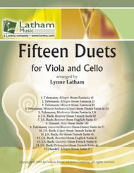 Fifteen Duets for Viola and Cello