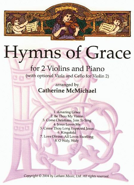 Hymns of Grace for 2 Violins and Piano