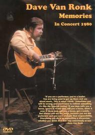 Dave Van Ronk Memories in Concert 1980
