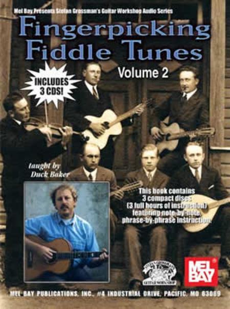 Fingerpicking Fiddle Tunes Volume 2