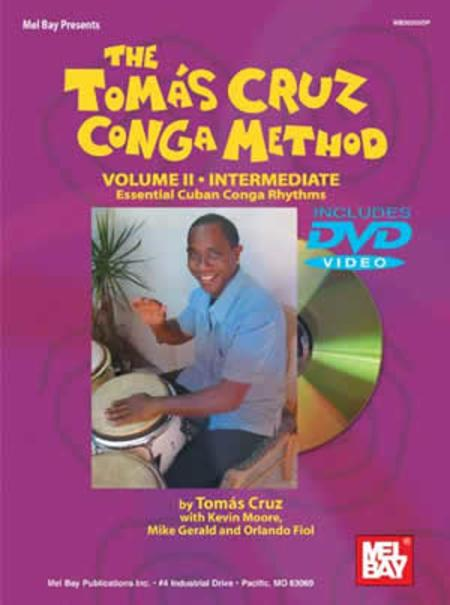Tomas Cruz Conga Method Volume 2 - Intermediate