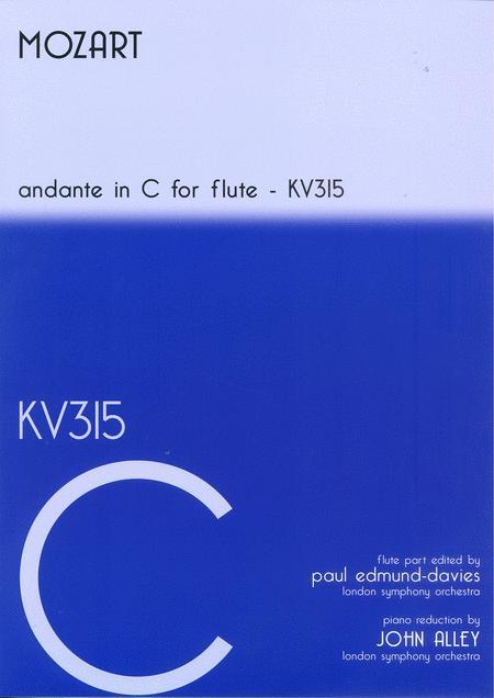 Andante in C - KV315