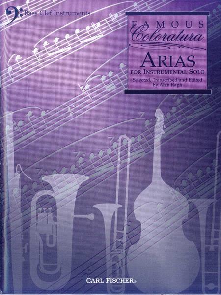 Famous Coloratura Arias