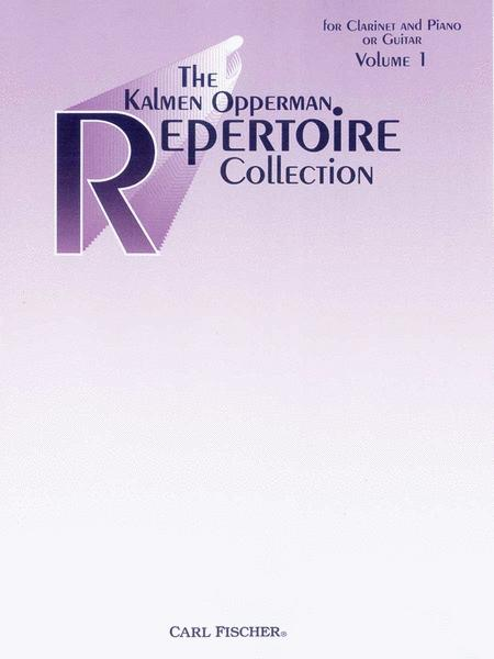 The Kalmen Opperman Repertoire Collection