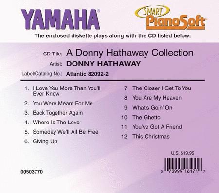 A Donny Hathaway Collection - Piano Software