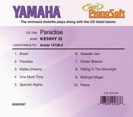 Kenny G - Paradise - Piano Software