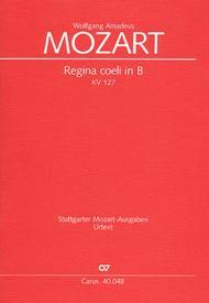 Regina coeli in B-Flat Major, K. 127