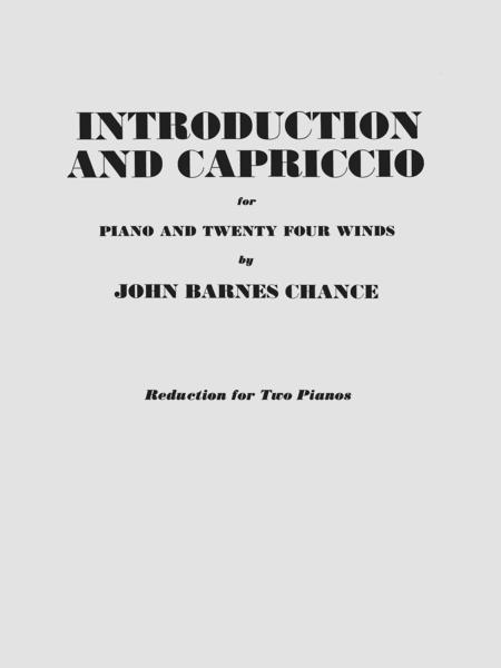 Introduction and Capriccio
