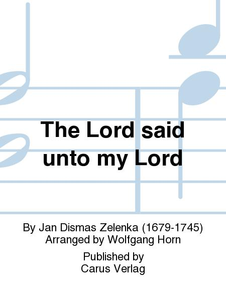 Dixit Dominus (The Lord said unto my Lord)