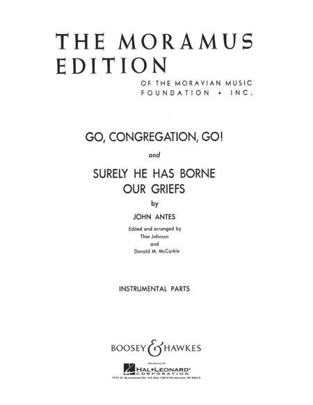 Go, Congregation, Go! Str Orch