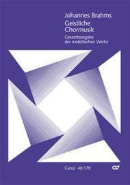 Sacred Choral Music (Geistliche Chormusik)