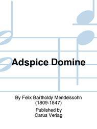 Adspice Domine