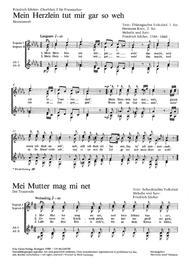 Silcher: Chorblatt 3 fur Frauenchor