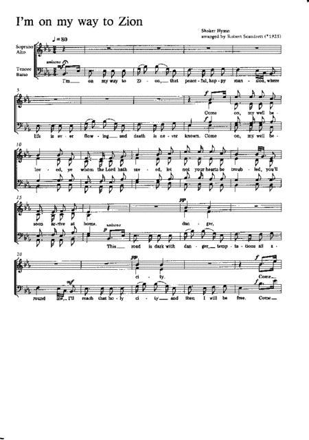 Scandrett: Shaker Hymnes