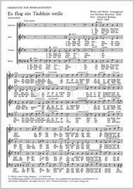 Drei Weihnachtschorsatze von Brahms, Distler und Kaminski