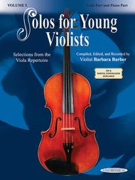 Solos for Young Violists, Volume 5