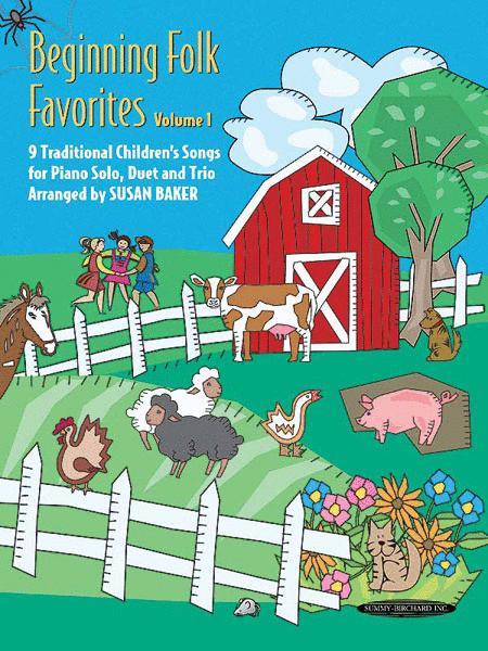 Beginning Folk Favorites, Volume 1