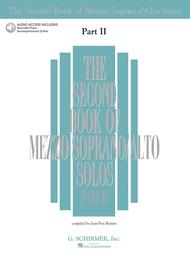 The Second Book of Mezzo-Soprano Solos Part II