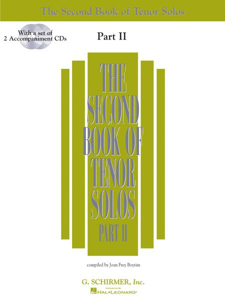 The Second Book of Tenor Solos - Part II (Book/CDs)