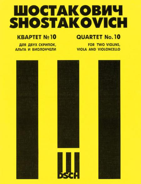 String Quartet No. 10, Op. 118