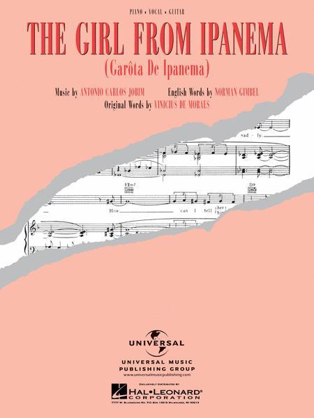 the girl from ipanema sheet music pdf