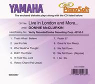 Donnie McClurkin - Live in London and More ... - Piano Software