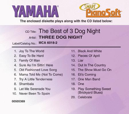 The Best of 3 Dog Night - Piano Software
