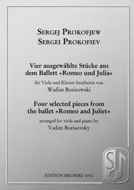 Sergei Prokofiev - Four Selected Pieces from the Ballet Romeo and Juliet