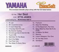 Etta James - Her Best - Piano Software