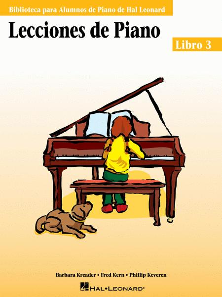Piano Lessons Book 3 - Spanish Edition
