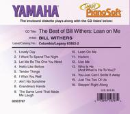 The Best of Bill Withers - Lean on Me - Piano Software