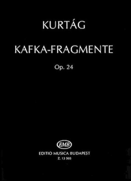 Kafka Fragments, Op. 24