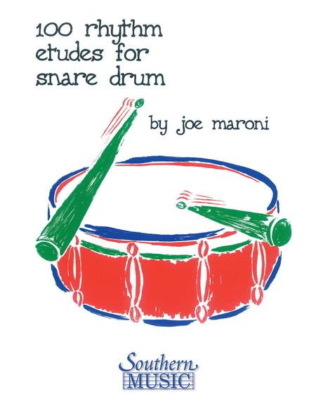 100 Rhythm Etudes for Snare Drum