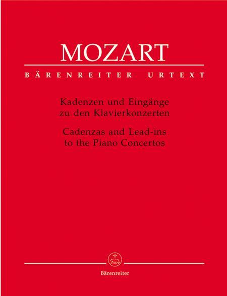 Cadenzas and Lead-ins to the Piano Concertos