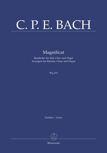Magnificat Wq 215