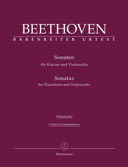 Sonatas for Piano and Violoncello