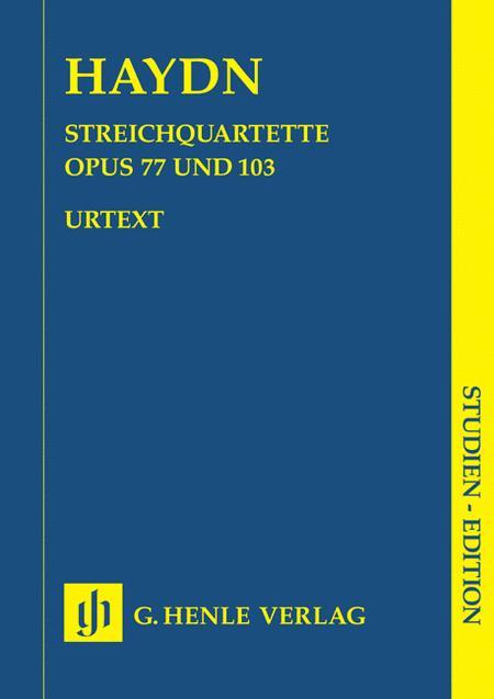String Quartets - Volume XI Op. 77 and Op. 103