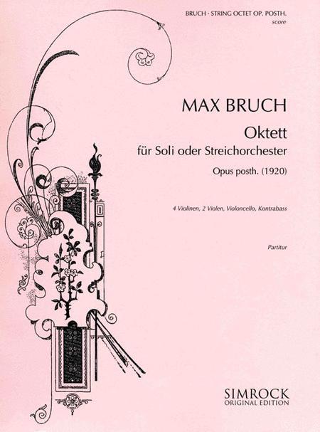 String Octet, Op Posth.