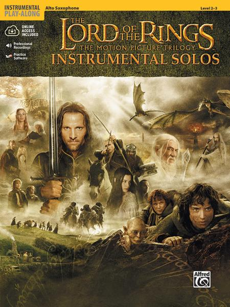 The Lord of the Rings - Instrumental Solos (Alto Sax)