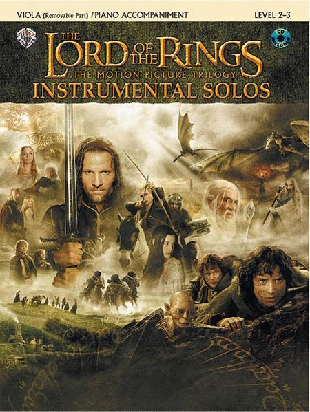 The Lord of the Rings - Instrumental Solos (Viola/Piano)