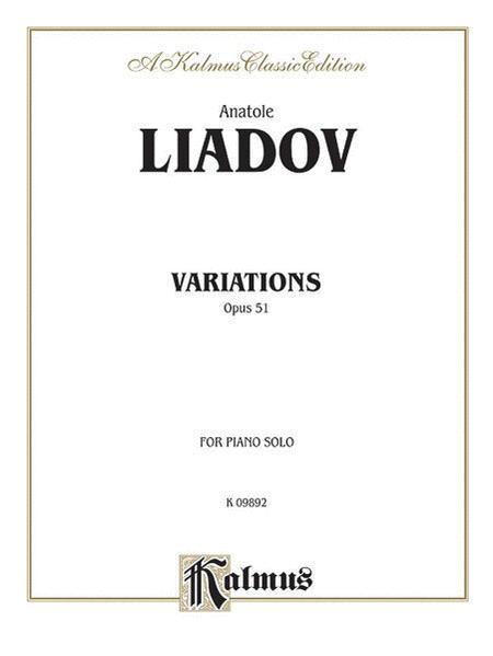 Variations sur un theme populaire Polonais, Op. 51