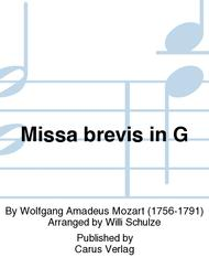 Missa brevis in G major