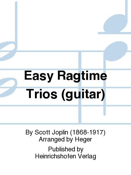 Easy Ragtime Trios (guitar)