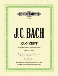 Concerto in c minor (Va/Vc/Vn,Pf w/CD)