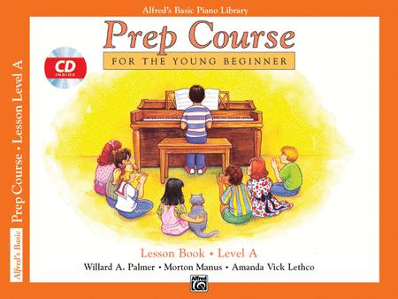 Alfred's Basic Piano Prep Course Lesson Book, Book A