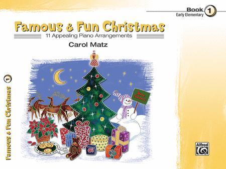 Famous & Fun Christmas, Book 1