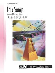 Folk Songs for Easy Piano