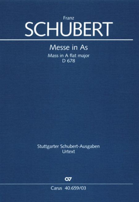 Mass in A flat major (Messe in As)